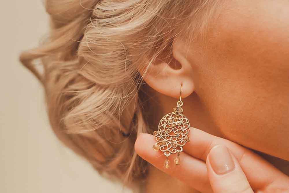 Gold Stud Earrings Wholesale